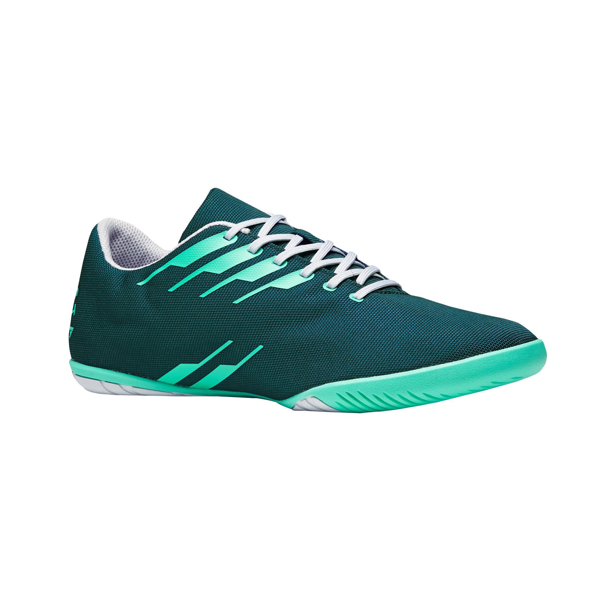 Hallenschuhe Futsal Fußball CLR 300 Erwachsene grün | Schuhe > Sportschuhe > Hallenschuhe | Imviso