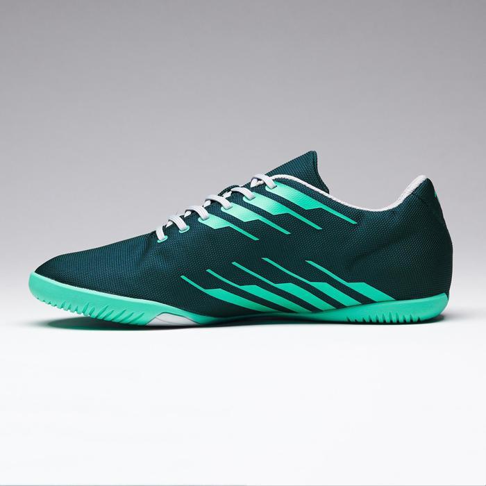 Zaalvoetbalschoenen CLR 300 volwassenen groen