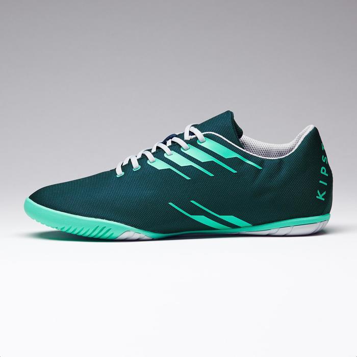 Chaussures de futsal adulte CLR 300 verte