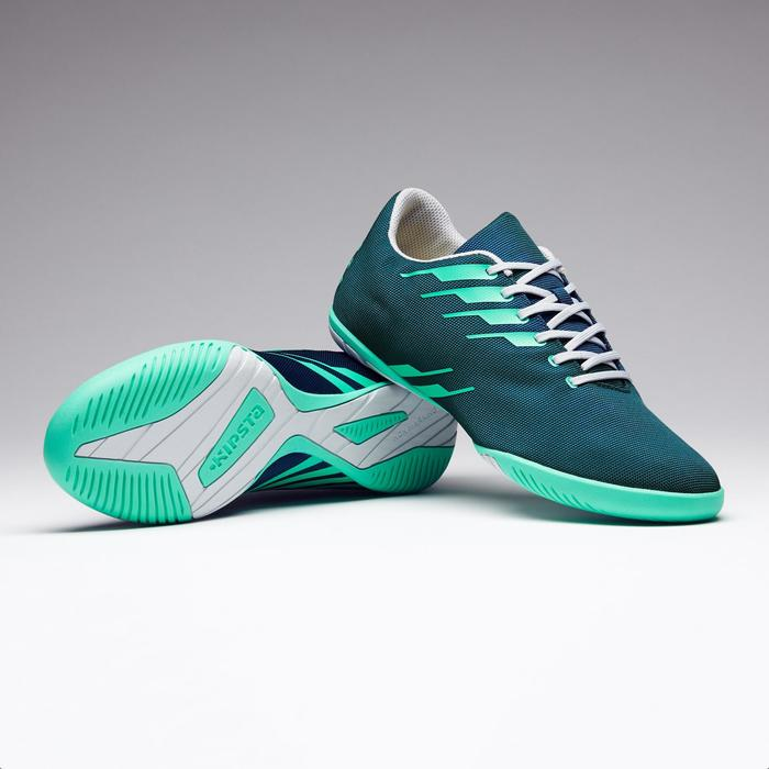 Hallenschuhe Futsal Fußball CLR 300 Erwachsene grün
