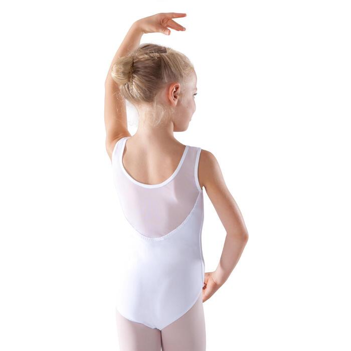 Justaucorps de danse classique bi-matière voile - 1279869