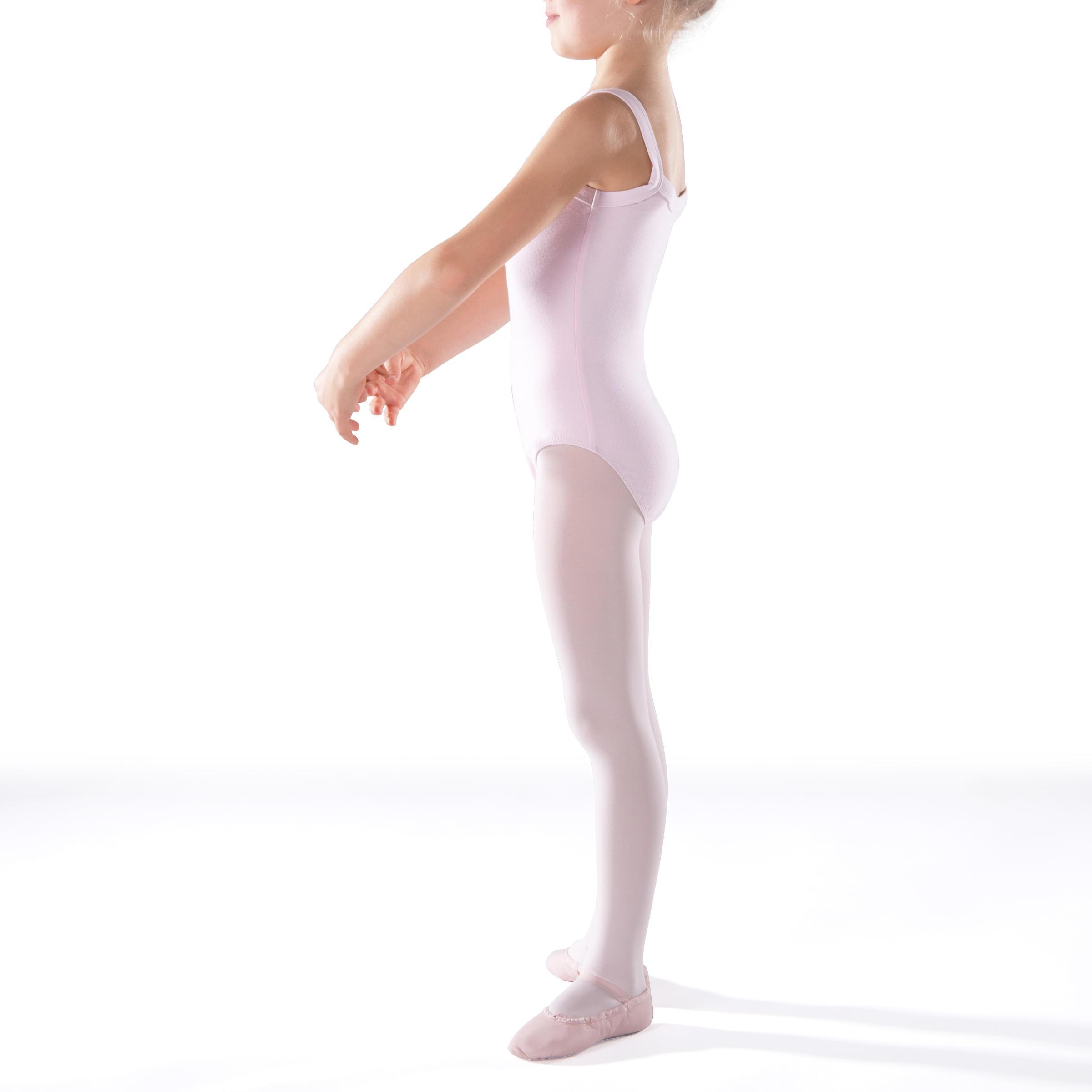 Léotard de danse classique rose
