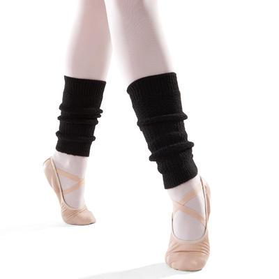 Girls' Ballet and Modern Dance Leg Warmers - Black