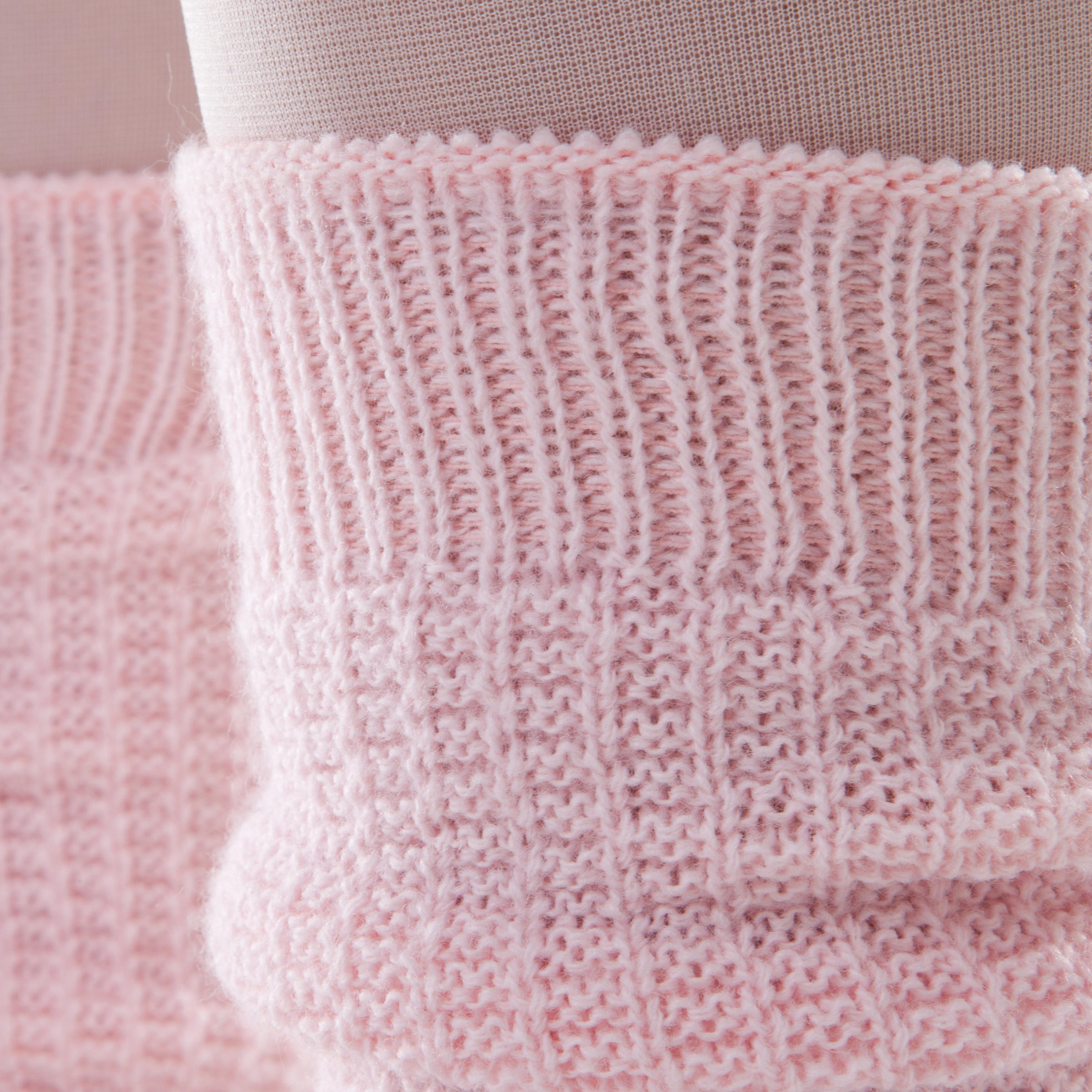 Guêtres fille roses