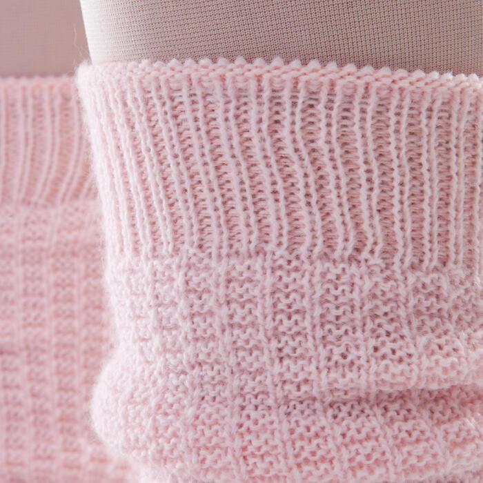 Calentadores niña rosas