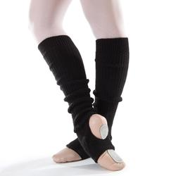 Calentadores Ballet Domyos Mujer Tobillo y Empeine Negros
