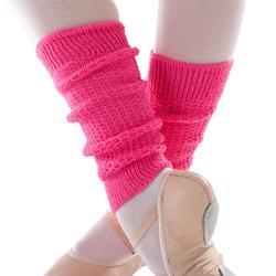 Beenwarmers voor ballet en moderne dans voor meisjes fuchsia