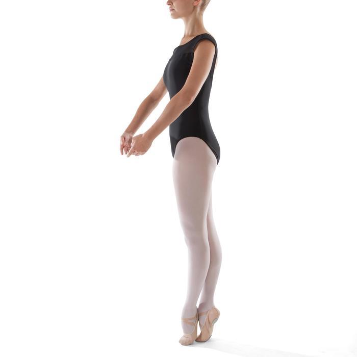 Justaucorps de danse classique manches courtes bi-matière femme - 1279964