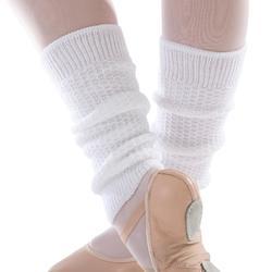 Guêtres de danse classique et moderne fille blanches