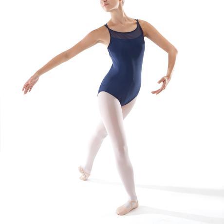 Justaucorps de danse classique à bretelles croisées femme bleu marine.  Previous. Next 18c2b619f3e
