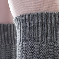 Women's Stirrup Leg Warmers - Grey
