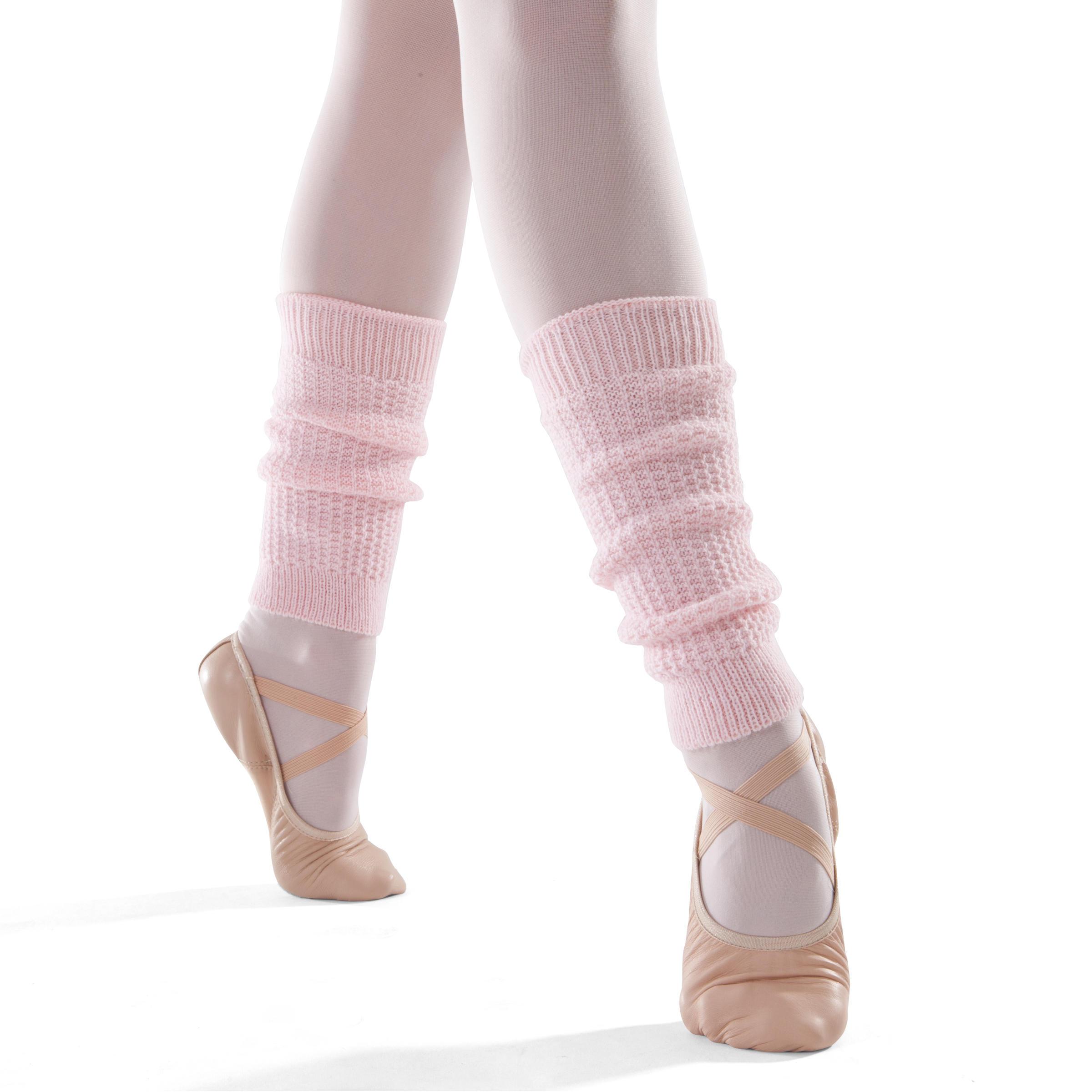 Girls' Dance Leg Warmers - Pink