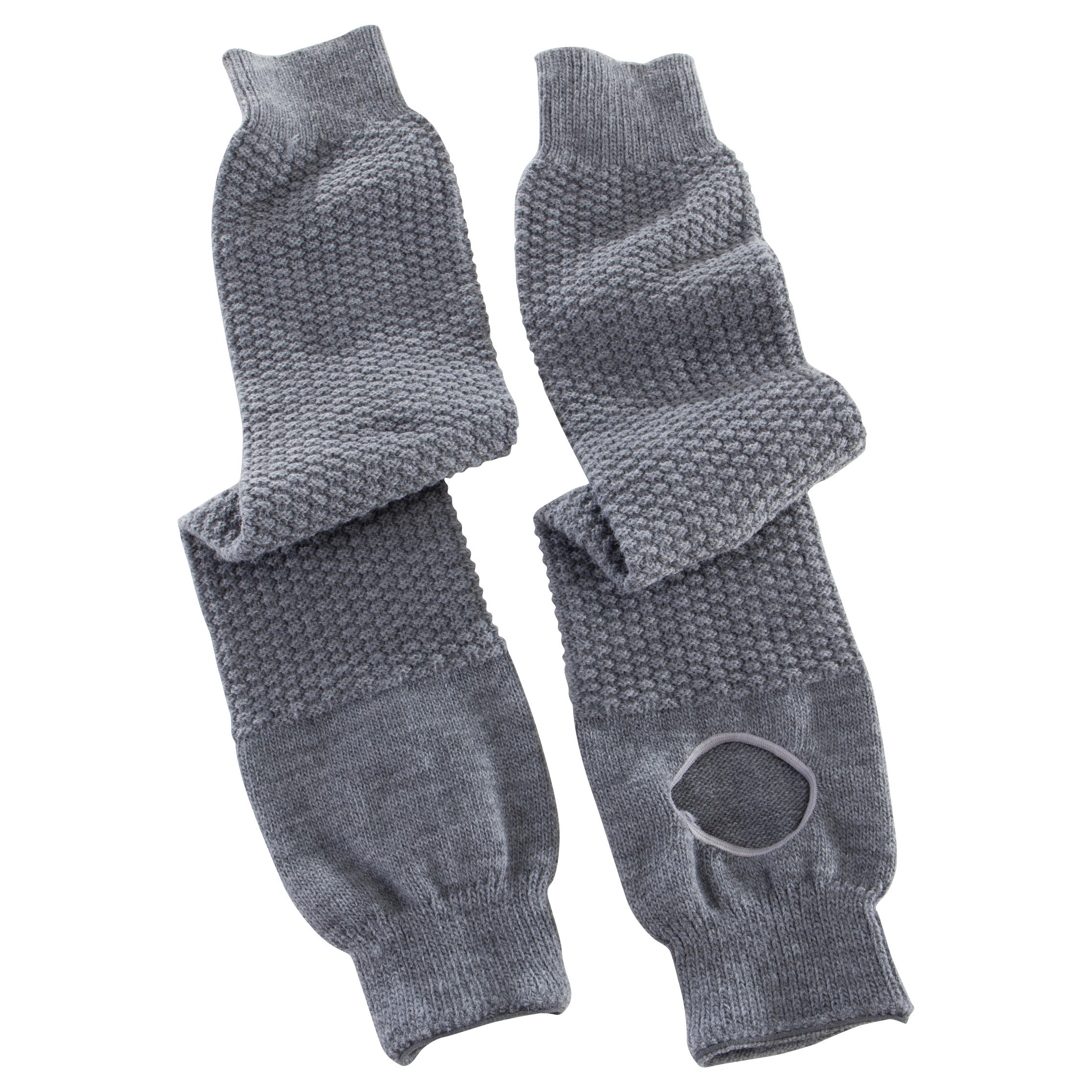 Calentadores mujer grises