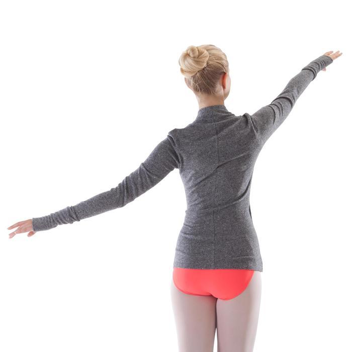 Cache-coeur de danse classique femme gris chiné - 1280023