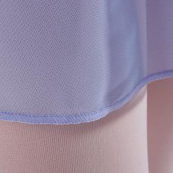 Ballettrock Voile Mädchen hellviolett