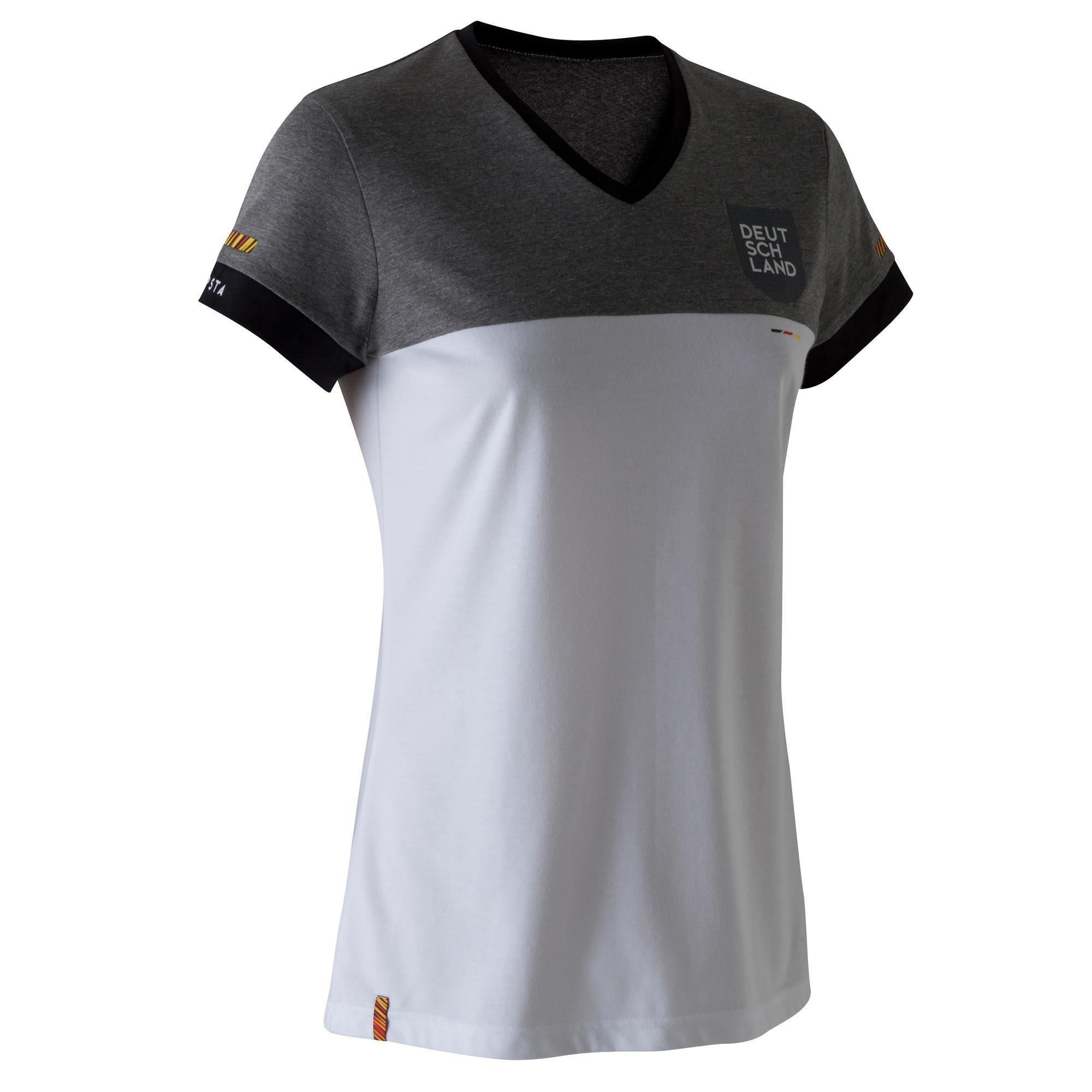 Kipsta Voetbalshirt Duitsland FF100 voor dames wit