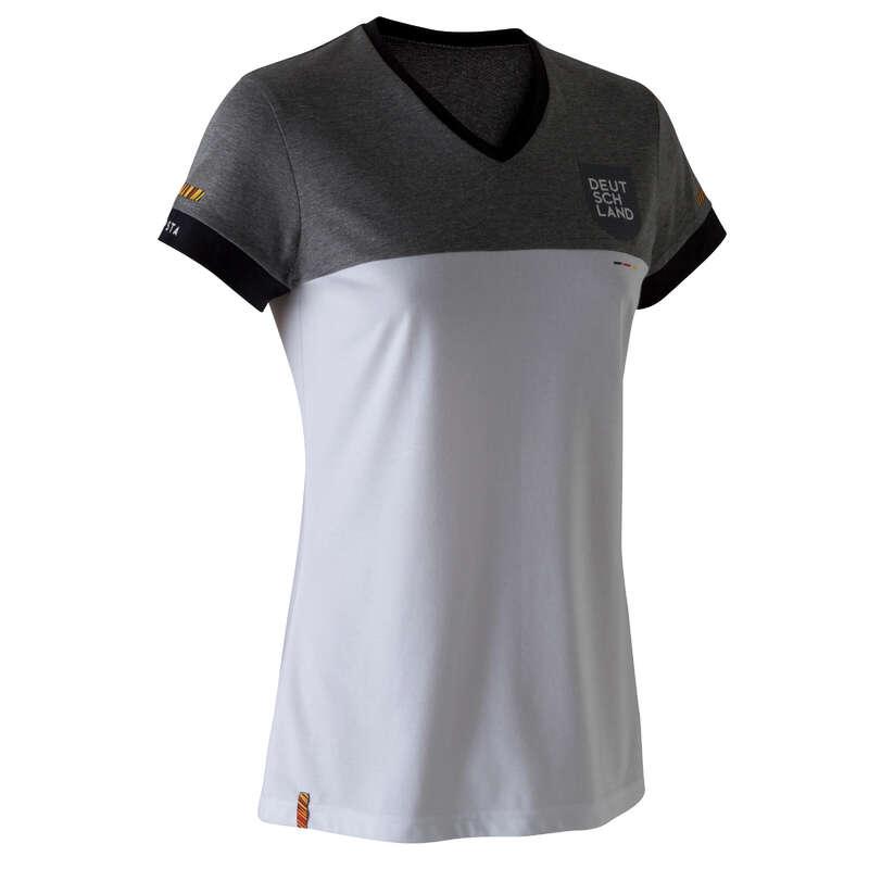 NĚMECKO Fotbal - DÁMSKÉ TRIČKO FF100 NĚMECKO  KIPSTA - Fotbalové oblečení