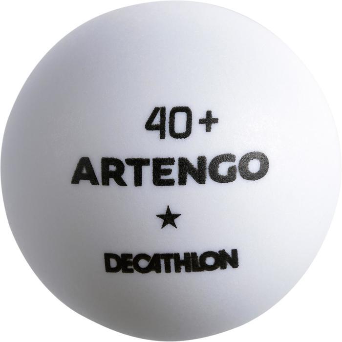 一星40+桌球(6入)TTB 100-白色