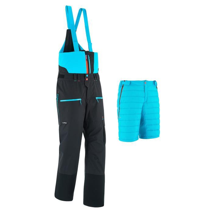 Pantalon de ski freeride homme free 900 noir - 1280235
