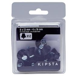 Schroefnoppen 13-16 mm voor voetbalschoenen / rugbyschoenen