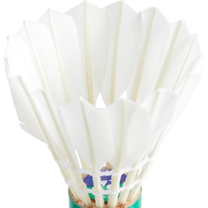 Badmintonshuttle Yonex League 7 12 stuks snelheid 77