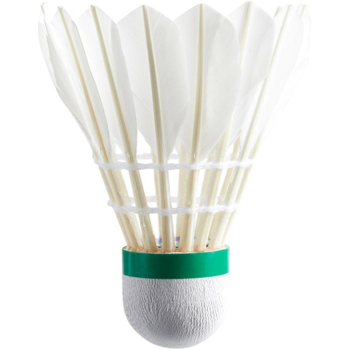 Badmintonbälle Naturfeder League 7 Geschwindigkeit 77 ×12
