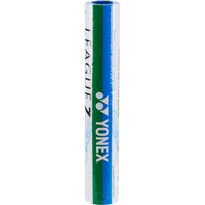 Volant plume de Badminton YONEX LEAGUE 7 X 12 VITESSE 77