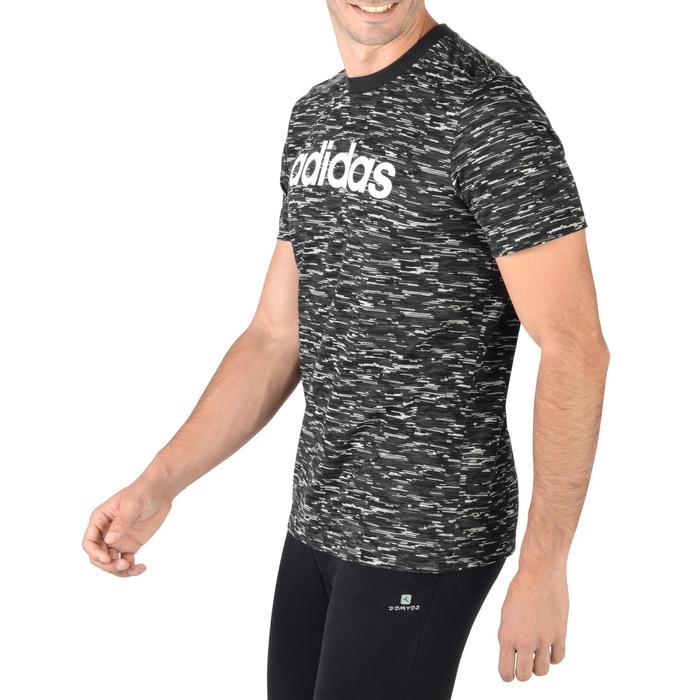 T-shirt gym pilates homme gris - 1280503