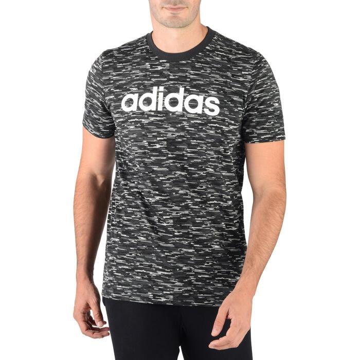 T-shirt gym pilates homme gris - 1280505
