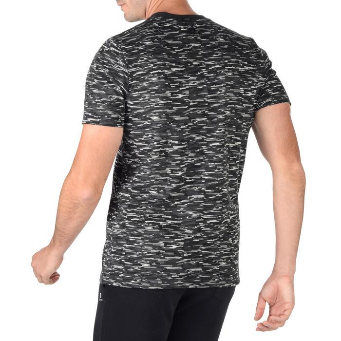 Herenshirt voor gym en pilates grijs
