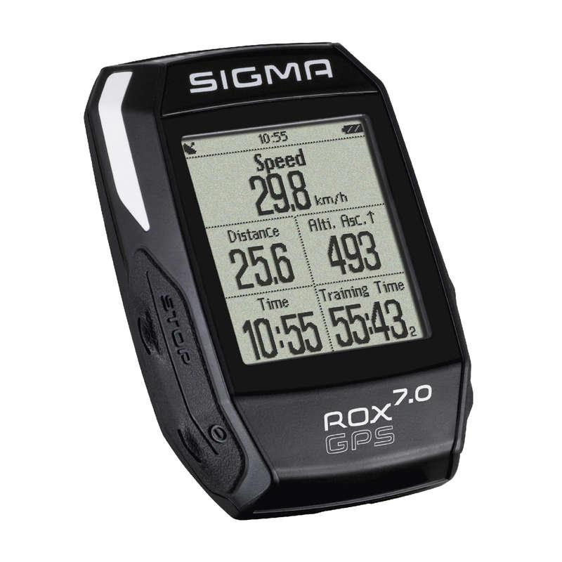 CYKLO TACHOMĚRY Cyklistika - TACHOMETR S GPS ROX 7.0 SIGMA SPORT - Příslušenství na kolo