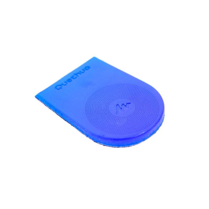 Palmilha de Calcanhar de Caminhada Gel Hike 100 Azul