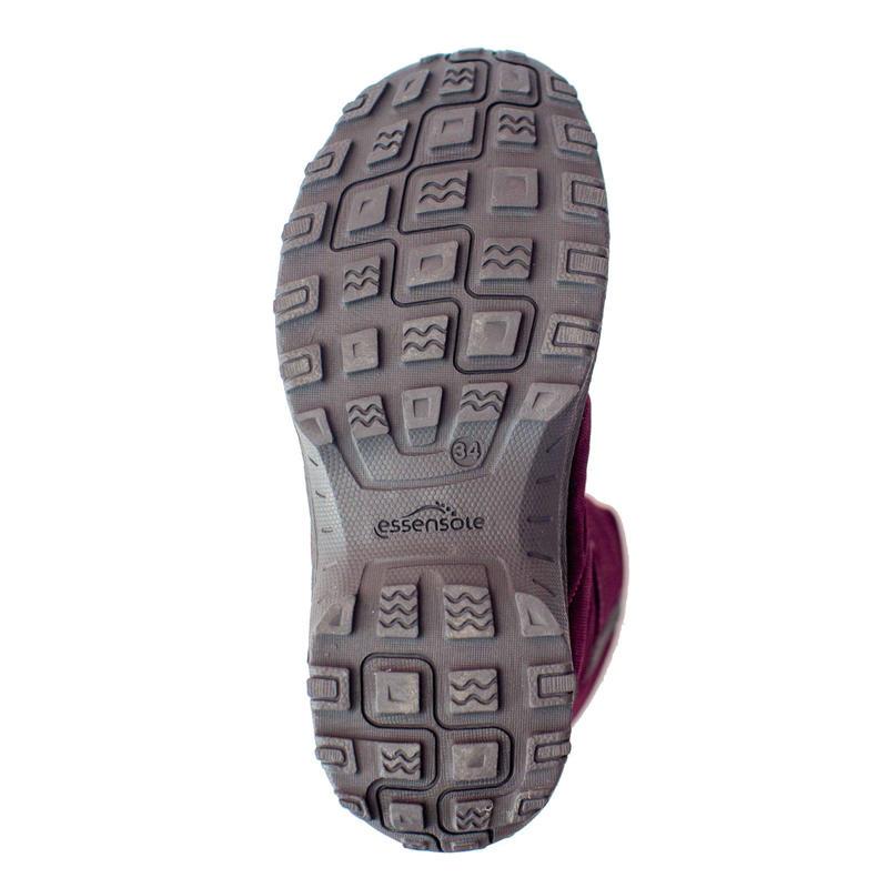 Kids' Snow Hiking Boots SH100 X-Warm - Pink