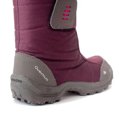 מגפיים חמים במיוחד להליכה בשלג מדגם SH100 לילדים - ורוד