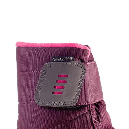 SH100 X-Warm Waterproof Snow Boots - Kids