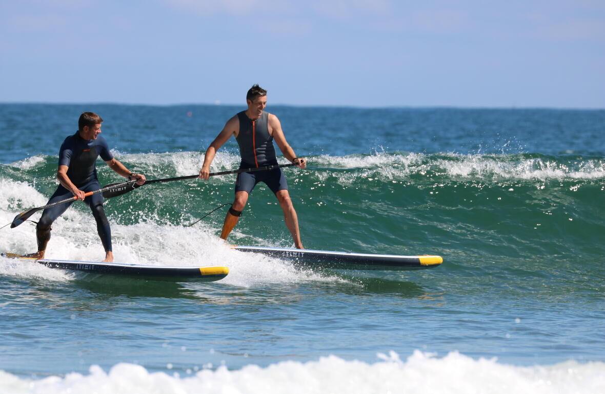 stand up paddle itiwit decathlon principiante ondas