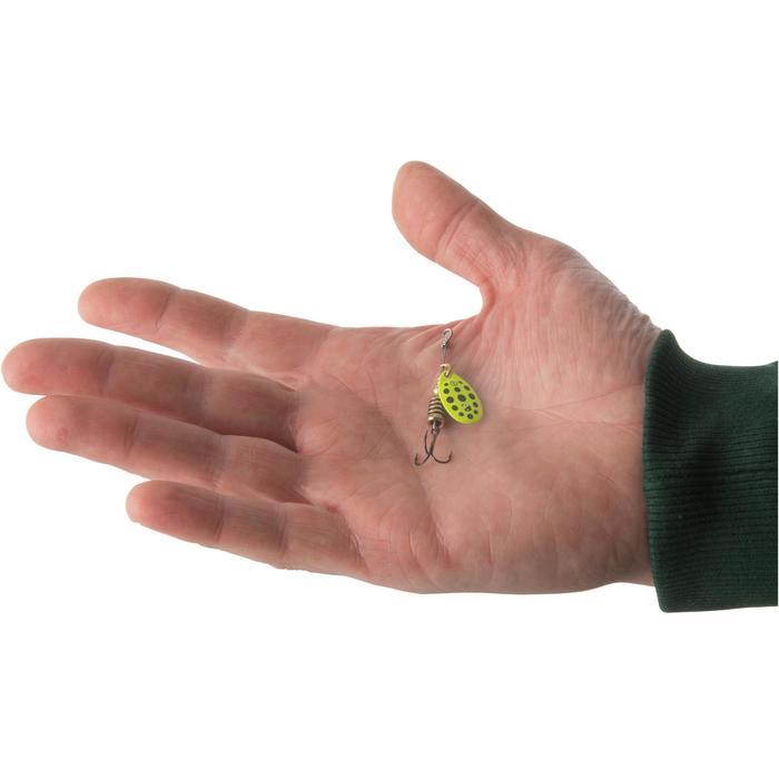 Spinner Weta+ #1 gelb/schwarze Punkte