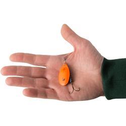 Spinner voor roofvissen Weta + #5 fluo-oranje