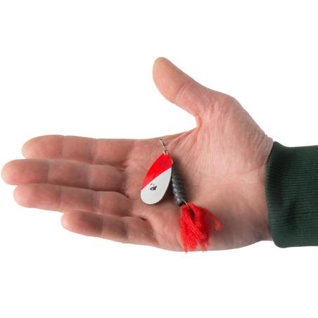 WETA PUFF #5 RED HEAD PREDATOR FISHING SPINNER