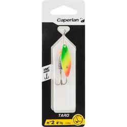Spinner voor roofvissen Taro #2 rasta