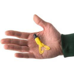Gummiköder Gowy 80 Raubfischangeln Black Yellow