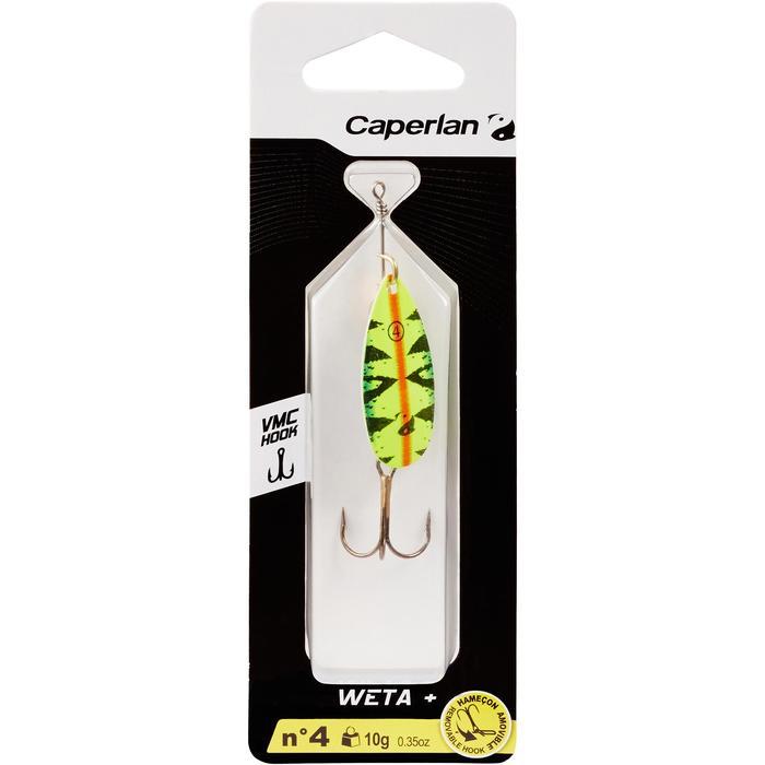 Spinner voor roofvissen Weta + #4 Fire Tiger