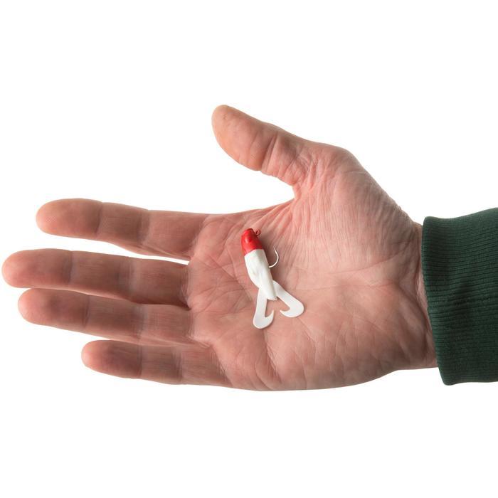 Gummiköder Raubfischangeln Gowy 60 roter Kopf