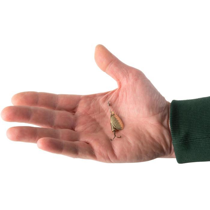 Spinner Raubfischangeln Weta Nr. 2 goldfarben