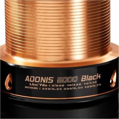 גלגלת לדיג של קרפיונים בדגם ADONIS 5000 - שחור