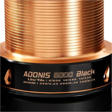 ADONIS 5000 CARP FISHING REEL BLACK