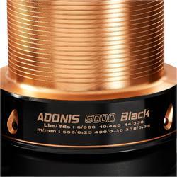 CARRETE PARA LA PESCA DE LA CARPA ADONIS 5000 BLACK