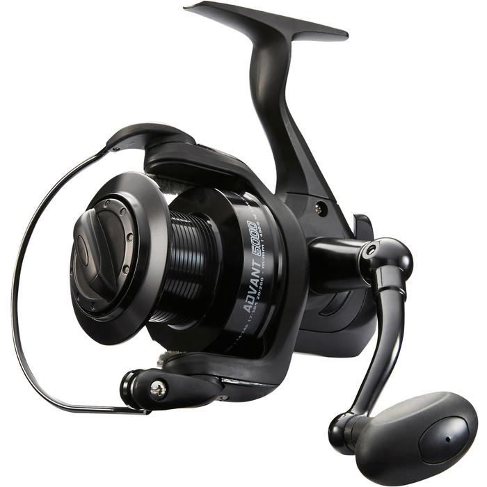 MOULINET PÊCHE EN SURFCASTING ADVANT POWER 5000 BLACK