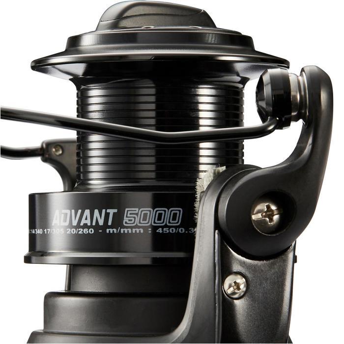 Angelrolle Karpfenangeln/Brandungsangeln Advant Power 5000 schwarz
