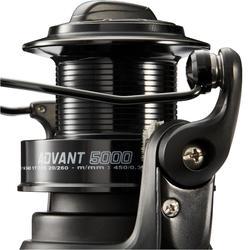 Surfcasting molen Advant Power 5000 zwart